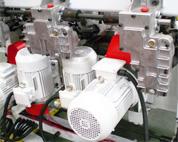 Четырехсторонний станок Richman VH-M412 - система подачи