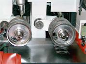 Четырехсторонний станок Richman VH-M412 - приводные рифленые вальцы